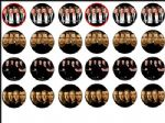 24 x Westlife Edible Rice Wafer Paper Cup Cake Toppers
